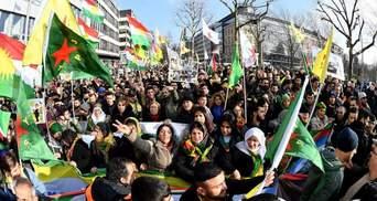Наступление Турции на Сирию: Европа митингует против политики Эрдогана