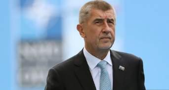 Чеський прем'єр з економічною місією відвідає Україну
