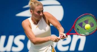 Марта Костюк зачехлила ракетку на соревнованиях WTA в Люксембурге