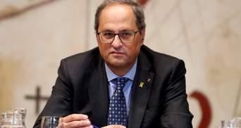 Президент Каталонии хочет провести новый референдум о независимости региона