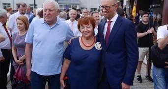 В Арсенія Яценюка помер батько