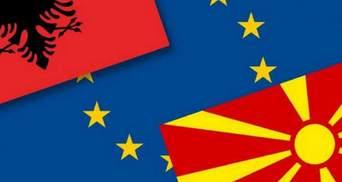 Переговори про вступ Північної Македонії і Албанії в ЄС зірвано: коли вони відновляться