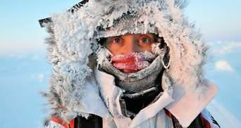 Зимой Украину атакуют рекордные морозы