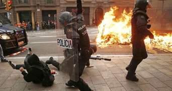 Протести у Барселоні: Іспанія відмовилися від переговорів з прихильниками незалежності Каталонії