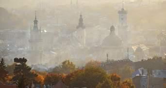 В каких городах Украины загрязненность воздуха превысила норму: карта