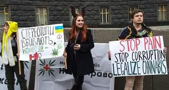 У Києві влаштували Конопляний марш свободи: фото, відео