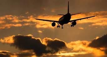 У самолета отказал двигатель в небе над Днепром