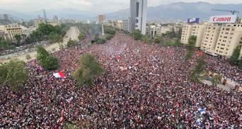 Президент Чили отменил чрезвычайное положение в стране