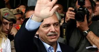 В Аргентині на виборах президента переміг опозиціонер Альберто Фернандес