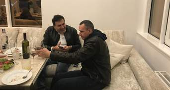 Міхеїл Саакашвілі переїхав на нову квартиру в Одесі: фото і відео