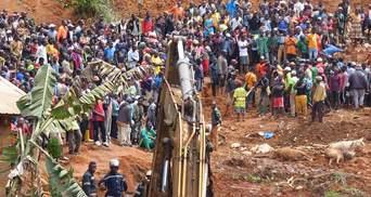 Потужний зсув ґрунту в Камеруні: понад 40 загиблих, серед них – багато дітей