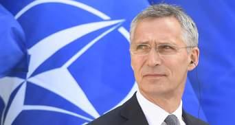 Агресія Росії в Чорному морі: Столтенберг розповів, як НАТО допомагає Україні