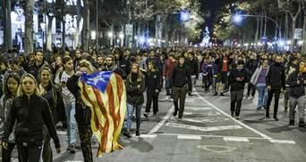 В Барселоні студенти паралізували роботу університету: фото