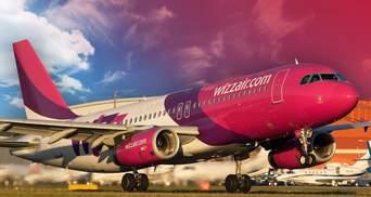 Пассажиропоток Wizz Air в Украину вырос на почти 70%