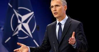 Стоит ли Украине подавать новую заявку на ПДЧ в НАТО: ответ генсека Столтенберга
