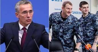 НАТО відмовило у зустрічі Столтенберга зі звільненими українськими моряками, – ЗМІ