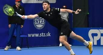 Українські тенісисти Стаховський і Марченко зачохлили ракетки на турнірі у Словаччині
