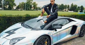 """Форвард """"Арсеналу"""" потрапив в аварію на Lamborghini ціною в 313 тисяч євро: фото та відео"""