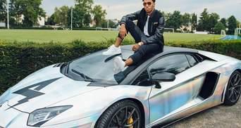 """Форвард """"Арсенала"""" попал в аварию на Lamborghini ценой в 313 тысяч евро: фото и видео"""