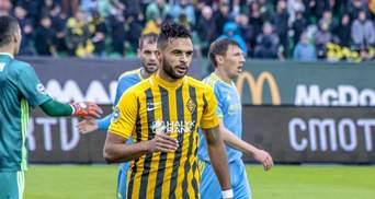 Украинский футболист стал лучшим бомбардиром иностранного чемпионата