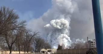 Вибухи на військових складах у Балаклії припинилися, пожежу локалізували