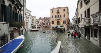 Венеция готовится к усилению наводнения: объявлен высший уровень опасности