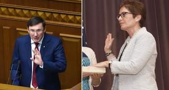 Луценко: Йованович сказала неправду Конгресу США