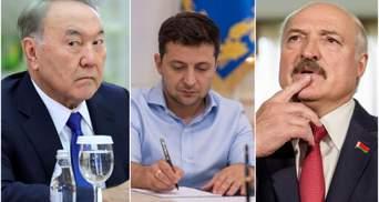 Дякуємо, але ми самі: Зеленський прокоментував пропозиції Лукашенка та Назарбаєва