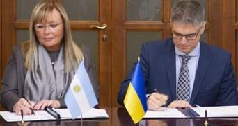 Україна розширила безвізовий режим з Аргентиною