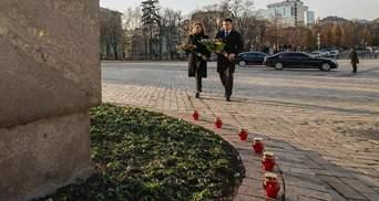 Українці не пробачать: Зеленський та інші політики вшанували пам'ять жертв Голодомору – фото