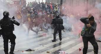 Криваві сутички у Колумбії: понад 300 поранених, троє загиблих – фото, відео