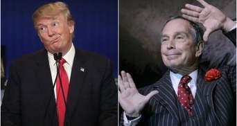 На США очікує політична битва мільярдерів: Блумберг таки виступив проти Трампа