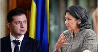 """Президент Грузии отложила визит в Киев """"из-за процессов в Украине"""""""