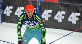 Украина потеряла медаль на первой гонке Кубка мира по биатлону, лидируя по дистанции