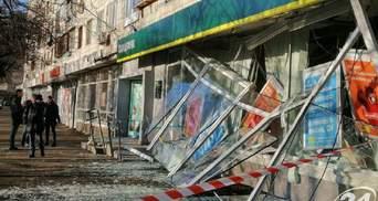 Дрібна крадіжка й мільйонні збитки: що кажуть в Ощадбанку про нічний вибух у відділенні
