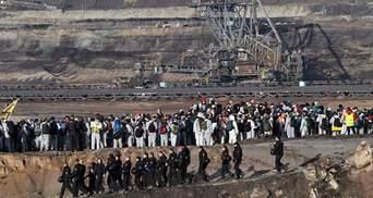 В Германии экоактивисты штурмовали угольные шахты: фото, видео