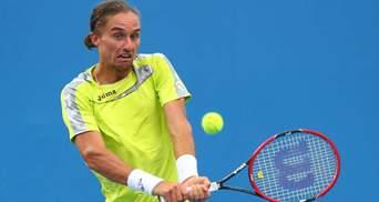 Зірковий український тенісист вперше за півтора року зіграє на турнірі Grand Slam