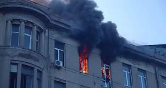 Из-за пожара в колледже Одессы объявлен двухдневный траур