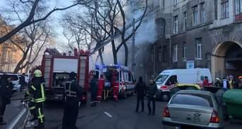Нашлась женщина, которую считали пропавшей после пожара в колледже Одессы