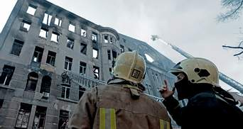 Пожар в колледже Одессы: городская власть оскандалилась со счетом для пожертвований