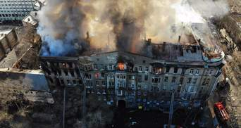 Студенты возвращаются на учебу после смертельного пожара в колледже Одессы