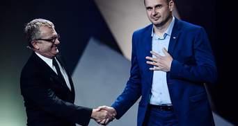 Сенцову не дали виступити на врученні премії Європейської кіноакадемії