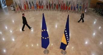В Євросоюзі розглянули заявку Боснії та Герцеговини на членство в ЄС: результати