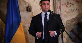 Путін хоче взяти під контроль 4 українські міста, – Клімкін