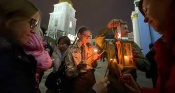 Пластуни привезли Вифлеємський вогонь миру в Україну: фото, відео