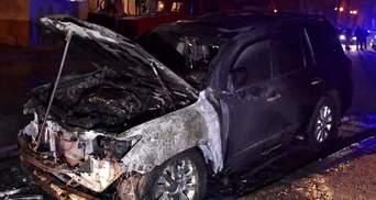 В Одессе сожгли автомобиль соратника Труханова: видео