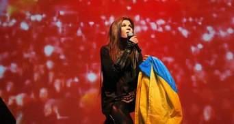 """Руслана показала """"дикі танці"""" на гала-шоу зірок Євробачення в Амстердамі: яскраві кадри"""
