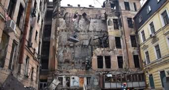 Пожежа в Одесі на Троїцькій: в ДСНС заперечують, що хотіли знищити документи