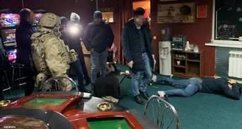 СБУ провела крупную облаву на нелегальные игорные заведения: фото