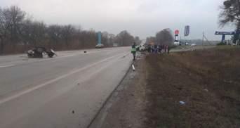 На Харківщині сталася серйозна ДТП за участю поліції: фото